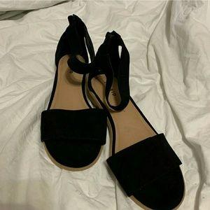 Torrid Cute Faux Suede Mini Heeled Sandals Sz.11w